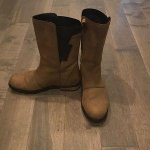 Waterproof boots!